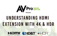 Understanding HDMI Extension with 4K & HDR
