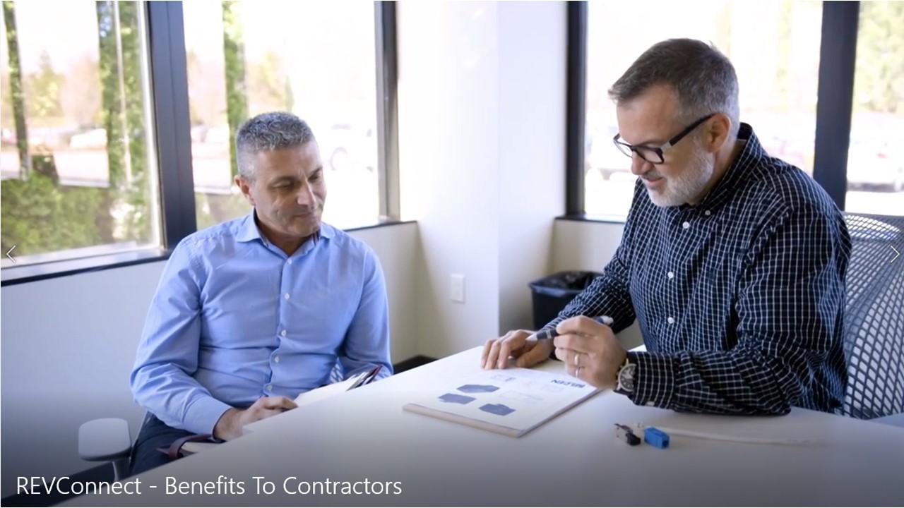 REVConnect Benefits To Integrators & Contractors