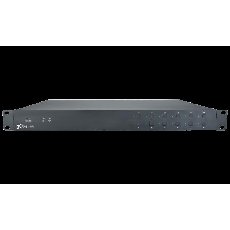 TechLogix TL-RKPS-01 12 Port Rack Mount Power Hub