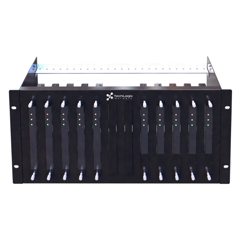 TechLogix TL-RK01 (5 space - 12 unit) Rack Mounting Kit for Electronics