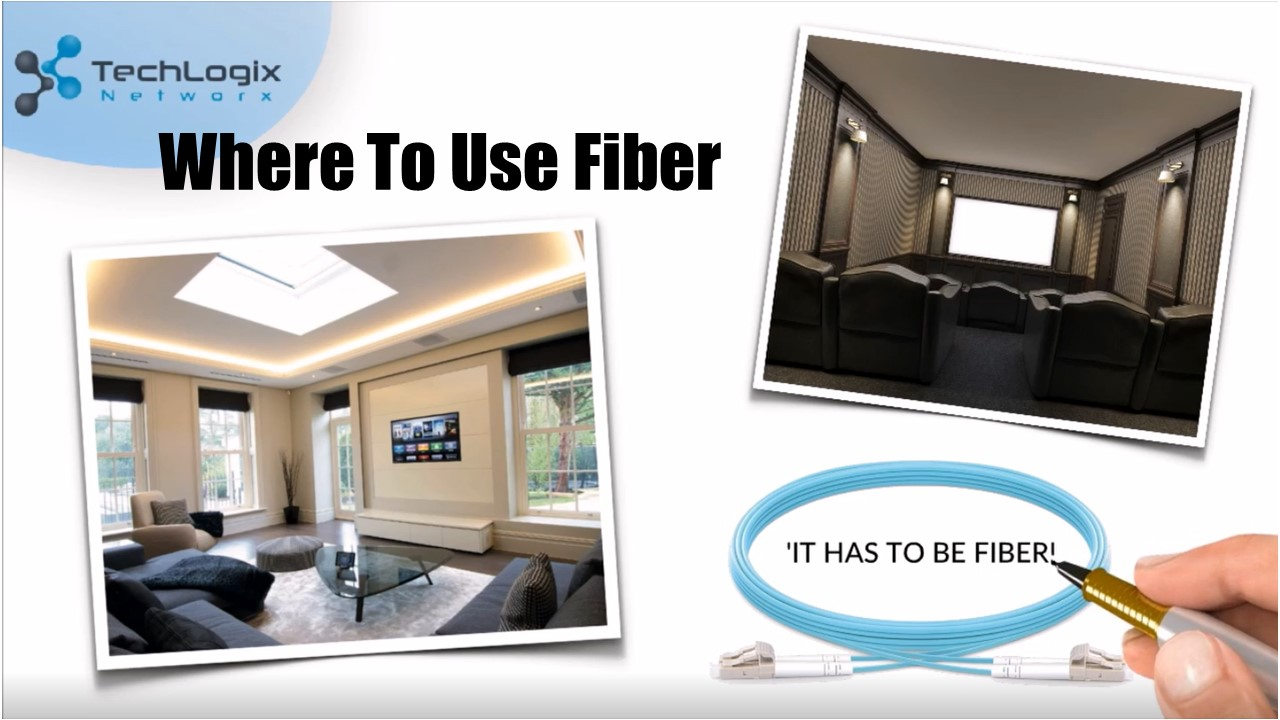 Where To Use Fiber