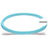 TechLogix Armored OM4 Fiber Optic Cables -- SC/SC Simplex Multimode